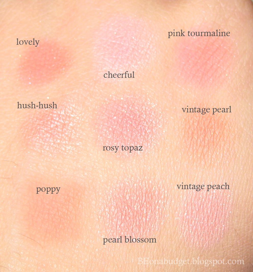 BE on a budget: How I stopped myself from buying blush today!