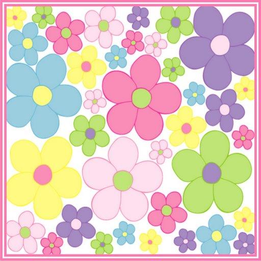 ... Pantalla y Mucho Más??: Fondos y Postales infantiles con flores