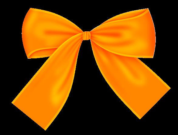 Recursos infantiles lazos de tela naranjas for Dibujo de lazo de navidad