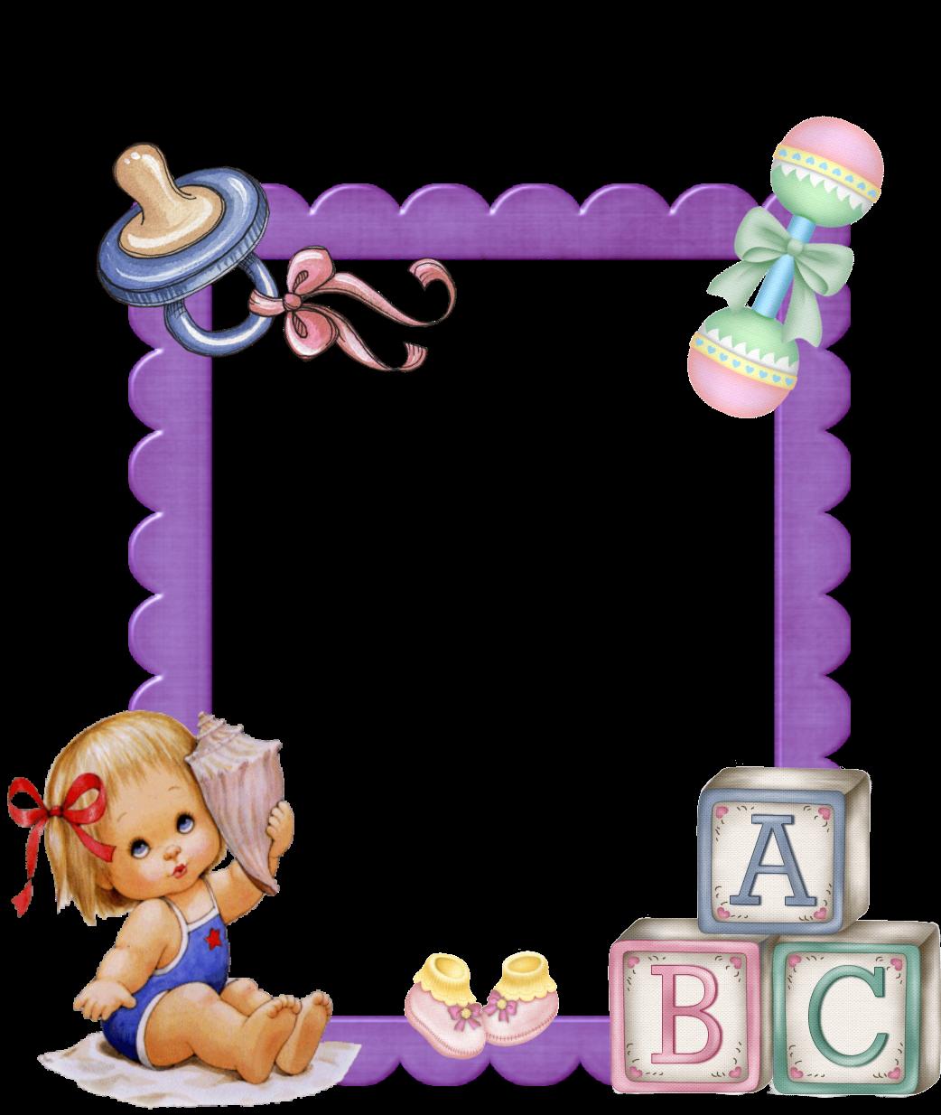 ... infantiles: Marcos para fotos infantiles - Bebe y Blancanieves