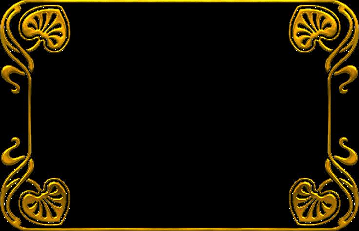Marcos dorados para cuadros marco dorado con franja for Marcos de fotos dorados