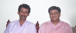 मराठी कवि, कलाकार श्री प्रसाद कुलकर्णी और मैं