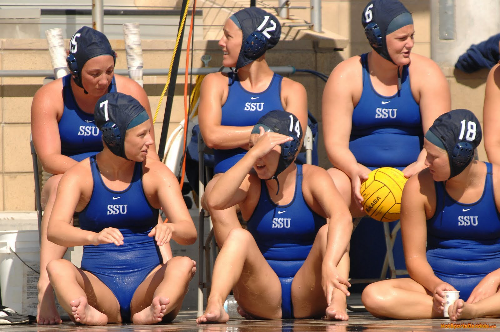 Girls water polo naked