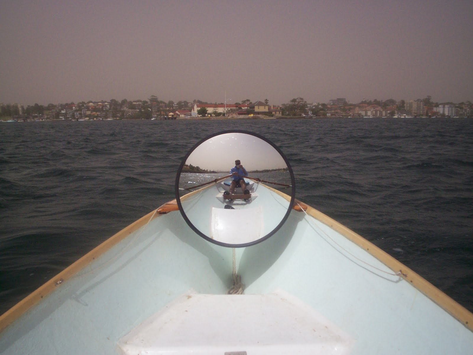 Rowing For Pleasure Mirrors Down Under