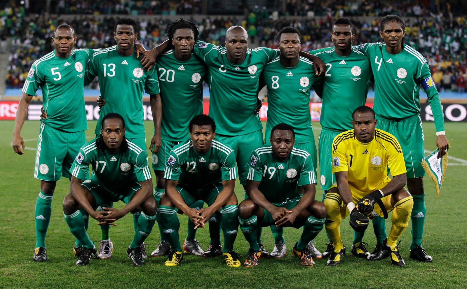 nigeria national football team 2012