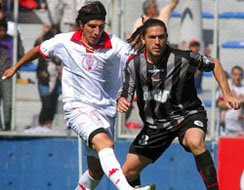 Carlos Chiche Arano en Huracán 1-0 Estudiantes