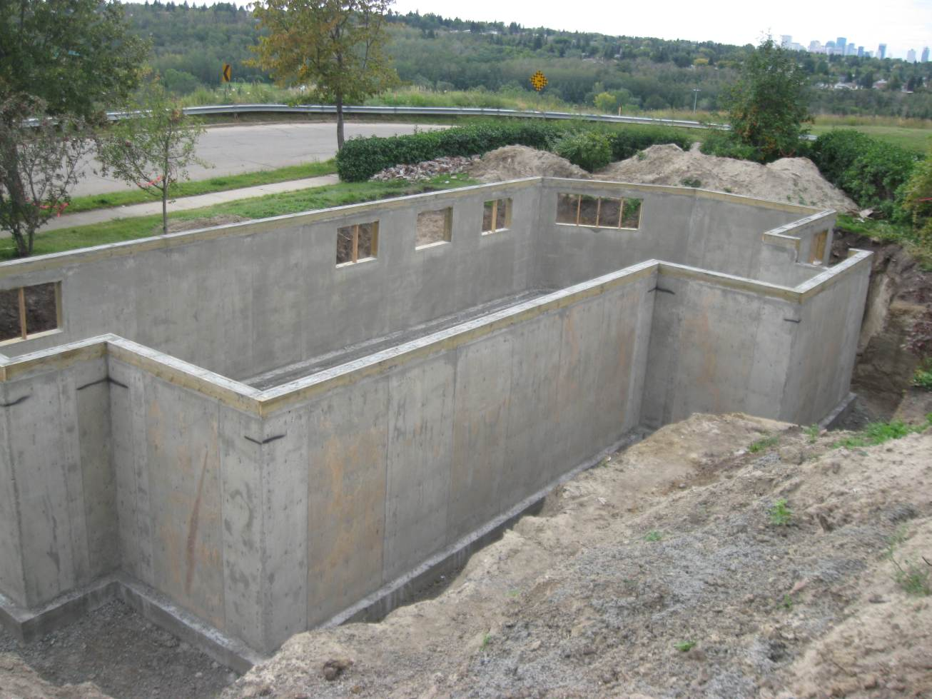 Chasing net zero concrete basement walls unveiled for Concrete basement walls