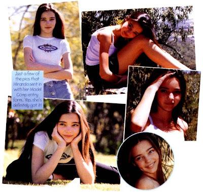 Modelos australianas Miranda Kerr