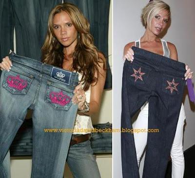 Moda pija jeans Victoria Beckham