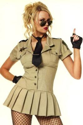 disfraz de sheriff chica