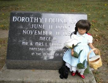 Sasha visits Dorothy namesake