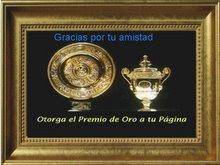 PREMIO DE ORO A ESTA PAGINA