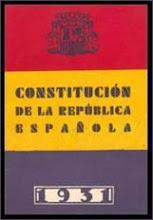 Texto de la Constitución de 1931 (segunda república)