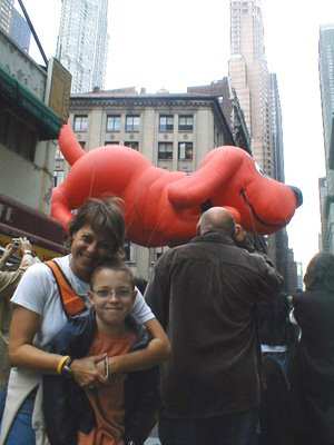 Colin at the Macy's Parade 2004