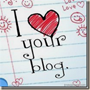 Love your blog...