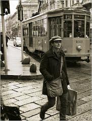 Por las calles de Milan.
