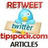 Cara Memasang Widget Retweet Twitter di Artikel Blog  | Cara Memasang Tombol Tweetmeme