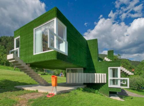 Plus1press m c escher house for C m custom homes