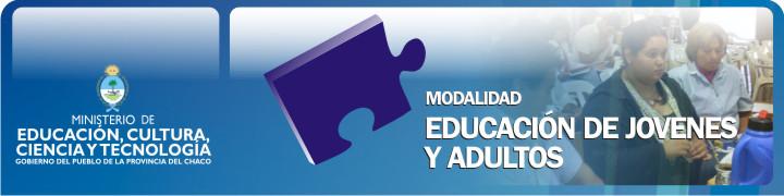 Área Educación de Jóvenes y Adultos
