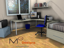 Render of a teenager's room