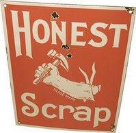 premio honest scrap