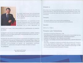 CLASE MAGISTRAL GRATUITA DEL DR. LEON TRAHTEMBERG PARA ADMINISTRATIVOS Y DOCENTES