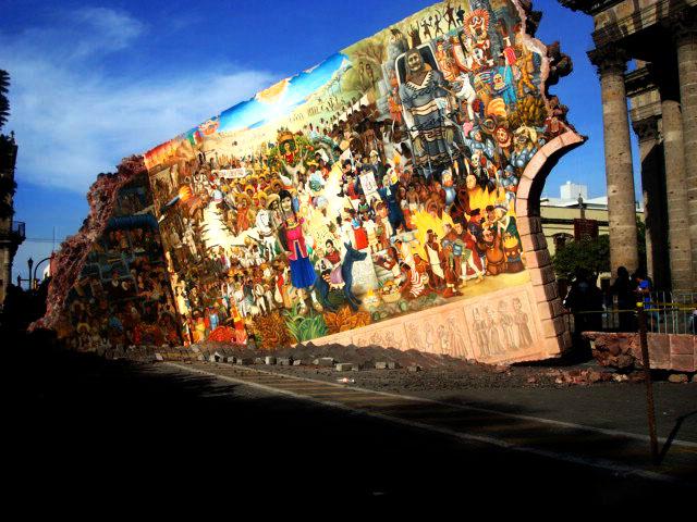 Sonr e no es tan malo como parece mural centenario de for El mural guadalajara avisos de ocasion