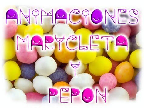 Animaciones Marycleta y Pepón