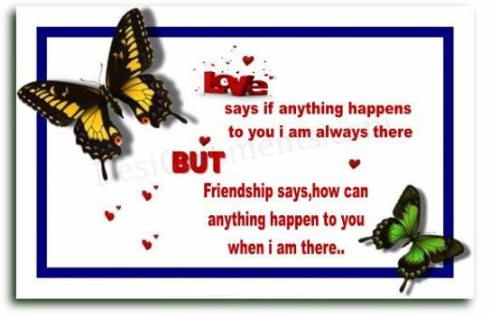 friendship and love quotes. friendship and love wallpapers