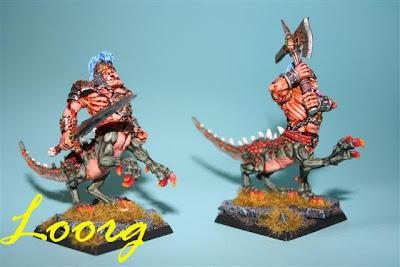 Warhammer: Ogros Dragón de tercera generación, otros dos modelos distintos