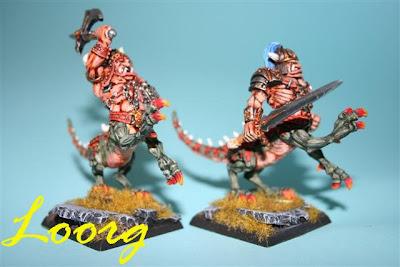 Warhammer: Ogros Dragón de tercera generación, dos primeros modelos