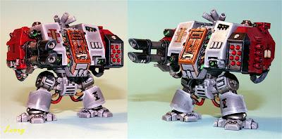 Dreadnought MKV de los Caballeros Grises