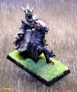 Nazgul montado a caballo