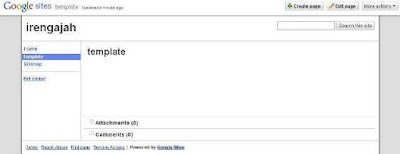 google site hosting