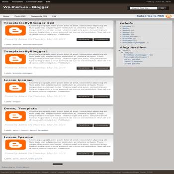free blogger template convert WordPress Theme to Blogger Wp-them.es template
