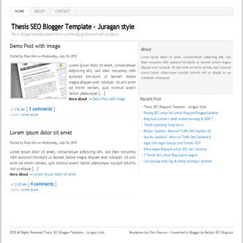 free blogger template convert wordpress theme to blogger template Thesis SEO blogger template