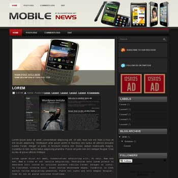 mobile news blogger template convert wordpress theme to blogger template with automatic slideshow image