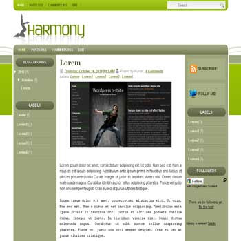 Harmony blogger template convert wordpress theme to blogger template with 3 column blogger template blog