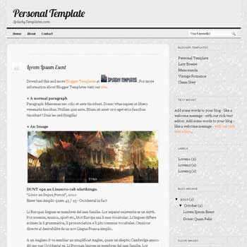 free Personal Template blogger template for personal blog template with flickr widget ready blog template