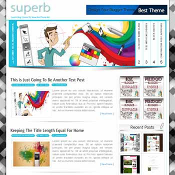 Superb template blogger converted from wordpress theme to blogger template with menu slider template blog magazine style template blogger template for blogspot template