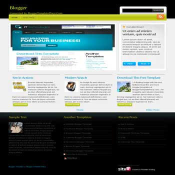 Webfolio blogger template converted wordpress theme to blogger template. template blog from wordpress theme. content slider blogger template. featured content template blogspot
