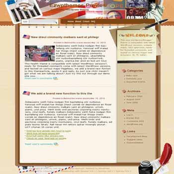Why Politics blogger template. template blog from wordpress