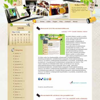 Adventures in Selva template blog from wordpress. travel blog template. template blog from wordpress. travel blog template