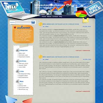 Participate Online blogger template. template blog from wordpress