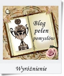 Wyróżnienie Blog pełen pomysłów