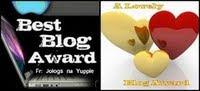 """Wyróżnienie """"best Blog"""""""