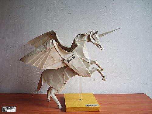Kade Chan Origami Blog Pegasus