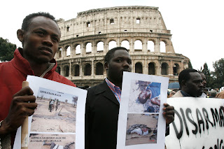 Global day for Darfur al Colosseo: sit-in e musica per non dimenticare