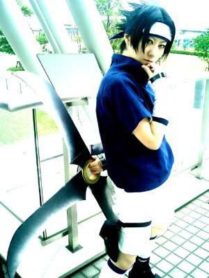 Cosplayers para ke sepan como hacer sus trajes !! Cosplay-Sasuke