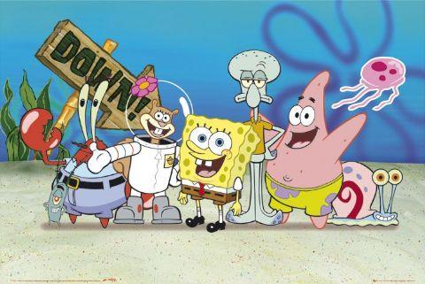 Film SpongeBob Squarepants Nickelodeon di Facebook